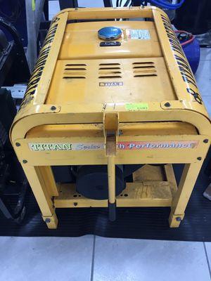 Titian performance 8000watt generator for Sale in Okeechobee, FL
