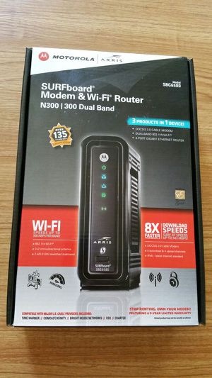 Modem and wifi router for Sale in Honolulu, HI
