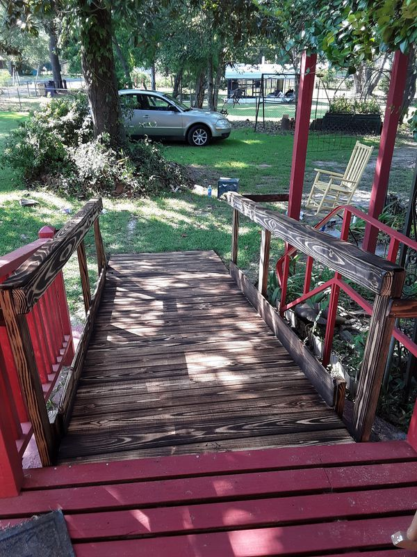 Wheel chair ramps