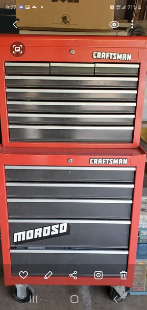 Craftsman tool box for Sale in Temecula, CA