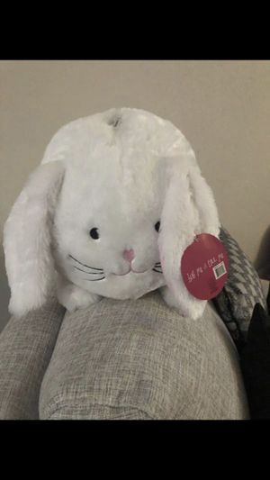 FREE Plush bunny piggy bank for Sale in Norcross, GA