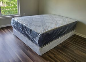BRAND NEW DOUBLE SIDED QUEEN MATTRESS SET WITH FREE DELIVERY for Sale in Manassas, VA