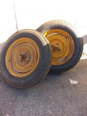 Firestone trailer tires 4 ply 500 16 for Sale in Anaheim, CA