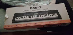 CASIO CTK 2500 for Sale in Richmond, CA