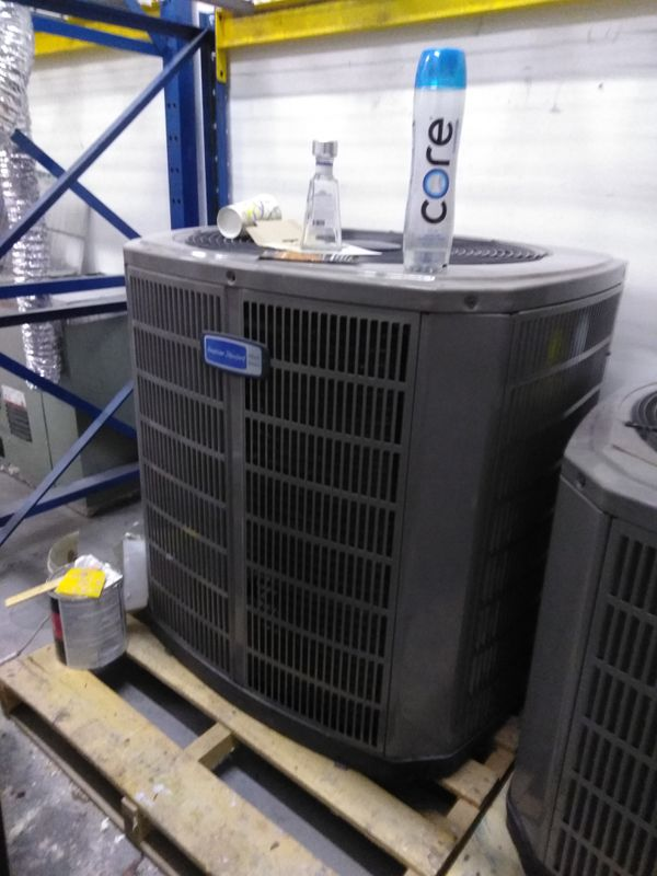 We sell hvac used and new
