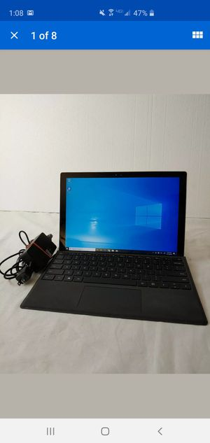 "Microsoft Surface 4 Pro 12.3"" Silver 4GB RAM i5 2.4Ghz 128GB Windows 10 Keyboard for Sale in Phoenix, AZ"