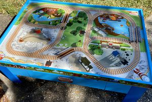 Thomas & Friends Wooden Railway Train Play Table for Sale in Winter Springs, FL