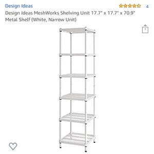White Metal Shelving for Sale in Ontario, CA