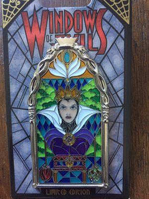 Windows of Evil Snow White's Queen Disney Pin for Sale in Portola Hills, CA