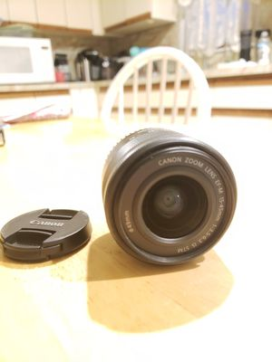 Canon m50 kit lens EF-M 15-45mm f3.5-6.3 for Sale in Massapequa, NY