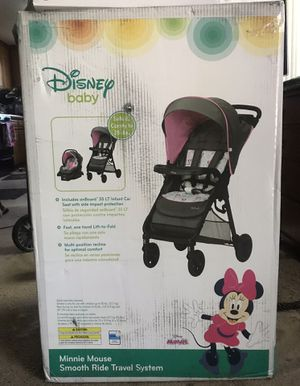 Disney Mini Mouse Stroller Car Seat for Sale in Irwindale, CA