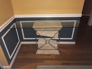 Console table and picture frame for Sale in Annandale, VA