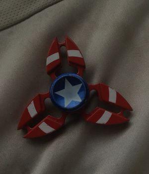 Captain America Shield fidget spinner for Sale in Tacoma, WA