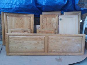 Cabinet doors...oak or maple for Sale in Anaheim, CA