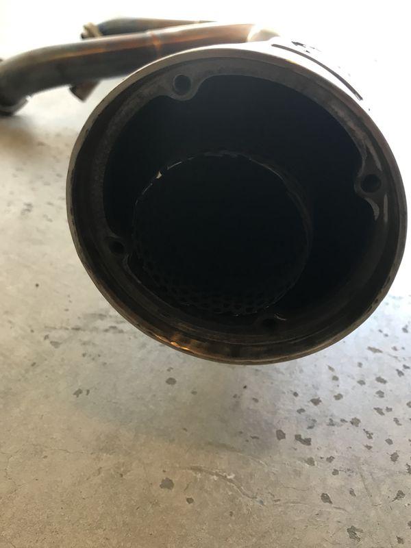 Harley Davidson DYNA TBR Exhaust