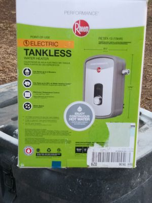 BRAND NEW RHEEM TANKLESS WATER HEATER for Sale in Sacramento, CA