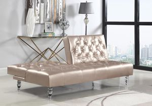 Futon sofa 🛋 on sale only at elegant furniture 🎈🛋🛏 for Sale in Fresno, CA