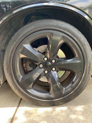 20 inch Black Rims Set for Sale in McDonough, GA