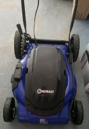 KOBALT 21 INCHES CORDED ELECTRIC LAWN MOWER......NEW....... for Sale in BVL, FL