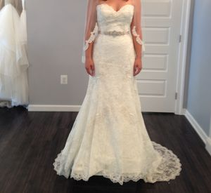 Watters Fabiene wedding dress for Sale in Gaithersburg, MD