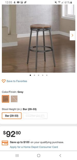 Bar Height stools brand new for Sale in Grand Prairie, TX