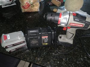Craftsman 20 cordless power drill for Sale in Houma, LA