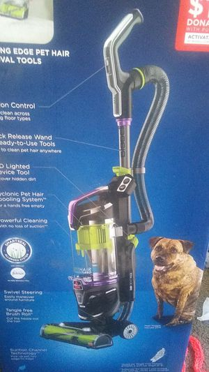 Bissell pet hair eraser turbo plus cleaning system vacuum... (Willing to trade for running and driveable car!) Price negotiable for Sale in Portland, OR