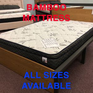 GEL MEMORY FOAM MATTRESS ❄️ 10 YEAR WARRANTY 🛏 BAMBOO FABRIC 🇺🇸 ALL SIZES AVAILABLE for Sale in Westminster, CA