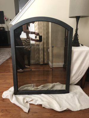 Heavy duty accent wall mirror for Sale in Alexandria, VA