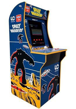 4ft LCD Space Invaders Arcade Entertainment Video Game Cabinet Classic Joystick Machine for Sale in Toledo, OH