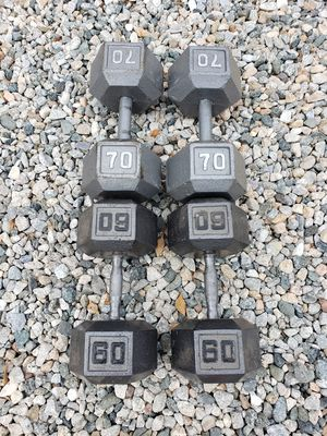 Dumbbell weights READ ENTIRE POST for Sale in Ontario, CA
