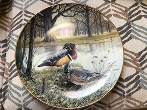 """BRADFORD EXCHANGE """"THE WOOD DUCK"""" COLLECTOR'S PLATE #2112 for Sale in Waterford, CA"""