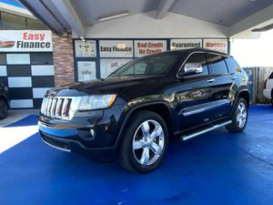 2012 JEEP GRAND CHEROKEE OVERLAND/ 1999$ DOWN PAYMENT for Sale in Fort Lauderdale, FL