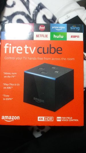 Fire tv cube (like new) for Sale in Alafaya, FL