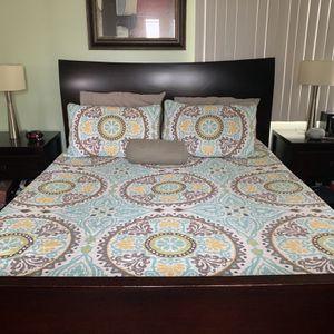 Bedroom Set: Queen 4 Piece w Memoryfoam Mattress! for Sale in San Diego, CA