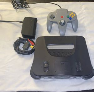 Nintendo 64 set up for Sale in Watsonville, CA