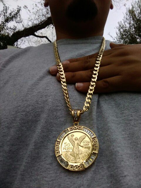 14k Gold Filled Cuban Link Chain With