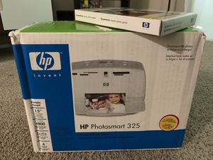 Hp photosmart 325 & Glossy photo paper for Sale in Marietta, GA
