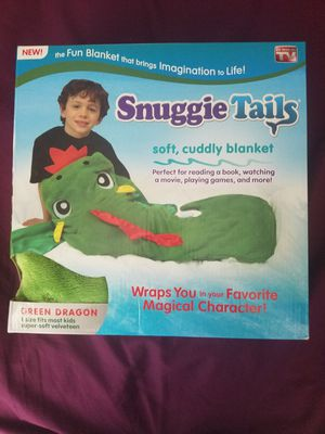 Snuggie tails dragon blanket for Sale in Lake Forest, CA