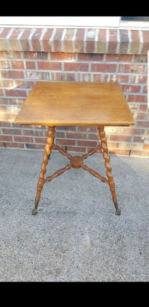 Antique Barley Twist Claw Foot Table for Sale in Battle Ground, WA