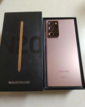 Samsung Galaxy Note 20 Ultra Factory Unlocked for Sale in Brentwood, CA