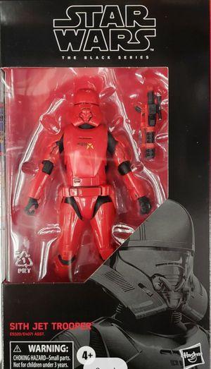 New Star Wars Black Series (Sith Jet Trooper) Action Figure. for Sale in Apopka, FL