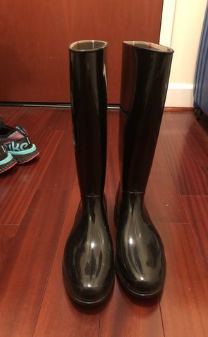 Burberry Black Rain-boots for Sale in Oakland, CA