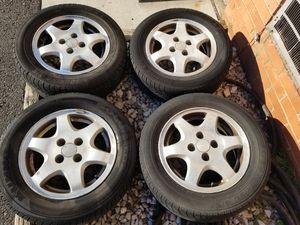 "Acura wheels 14"" 4x100 good tires for Sale in Manassas, VA"