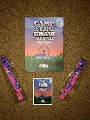 2 General Admission Camp Flog Gnaw Passes for Sale in Temple City, CA