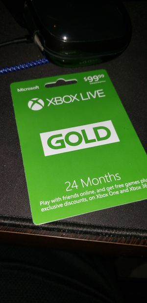 Xbox live gold 24 months for Sale in Marysville, WA