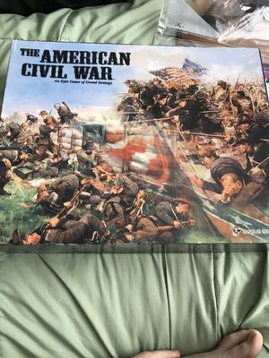 The American Civil War-Eagle Games-blank, Complete & VGC for Sale in Sherwood, OR