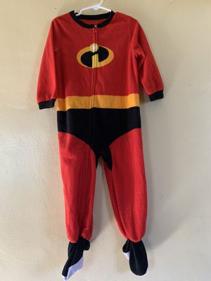 Used Incredible Jack-Jack pajamas/costume size: 3T for Sale in Bell, CA