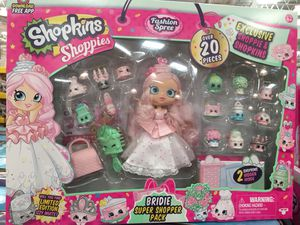 Shopkins shopies super pack for Sale in North Brunswick Township, NJ