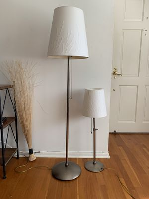 Matching silver lamps for Sale in Honolulu, HI